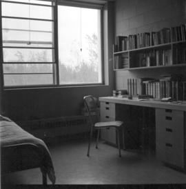 View of room in Canadian Mennonite Bible College dormitory