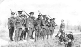 118th Battalion in Kitchener (Ontario). Gordon