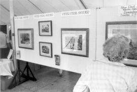Art display, Aug. 2, 1986 at Mennonite