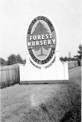 Forest Nursery sign