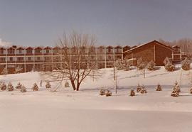 Conrad Grebel College in winter