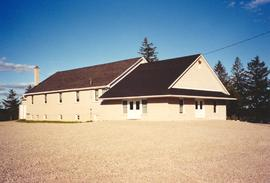 Cedar Grove Amish Mennonite Church Wellesley Twp. W section, corner of Wellesley-Crosshill road a...