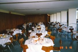 Grebel dining hall set for Ralph Lebold's farewell dinner