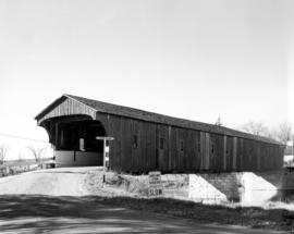 West Montrose covered bridge. Built in 1881 by
