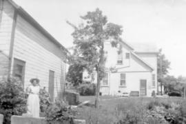 Abraham M. and Catharine Bowman's home in Elmira,