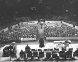 .Business session of the Mennonite World Conference, 1962