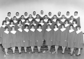 A cappella choir of Canadian Mennonite Bible College, 1967