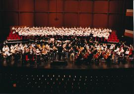 Conrad Grebel College choirs and orchestra