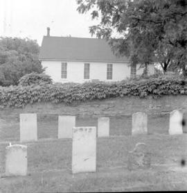 Cemetery beside The First Mennonite Church, (Vineland, Ontario)