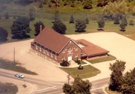 Steinmann Mennonite Church (Baden, Ont.) Aerial