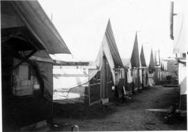 Tents at Camp Q-3