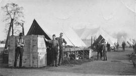 Breaking camp to move to Camp Borden