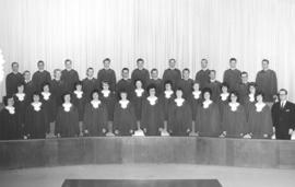 .A cappella choir of Mennonite Brethren Bible College, 1964