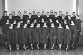 .A cappella choir of Canadian Mennonite Bible College, 1964