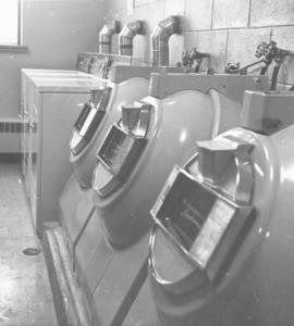 Mennonite Brethren Bible College dorm laundry room
