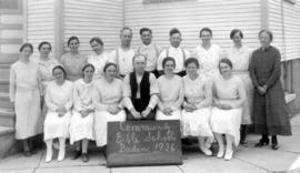 Summer Bible School at Baden, Ontario in 1936.