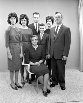 Roy Brubacher's family from Waterloo, Ontario.