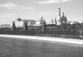 View of the Kremlin from Moscow River