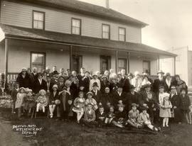 Descendants of pioneer Joseph Schneider at