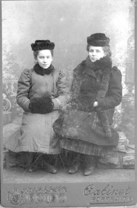 Helene Peters and Eva Heinrichs