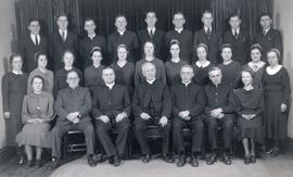 Ontario Mennonite Bible School graduating class