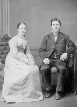 Wedding photo of Louisa Cressman and Dilman M.