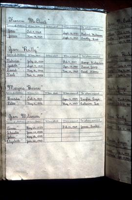 16th family history page inserted in Schneider