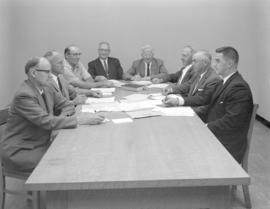 Fairview Mennonite Home board of management in 1962