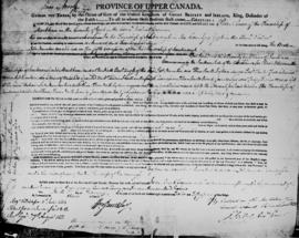 Land grant of 128 acres to Peter Reesor, 4