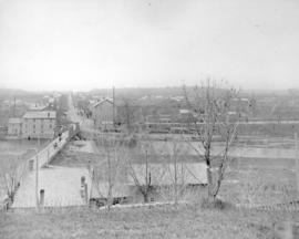 .St. Jacobs, Ontario from northern hill around 1887