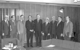 MCC representatives meet with Prime Minister Pierre Trudeau