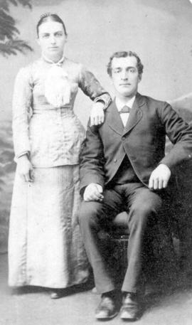 Original wedding photo of Peter and Susannah