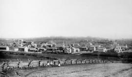 Copy of the village of St. Jacobs, Ontario, as it appeared in 1887