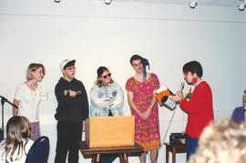 Grebel students performing a skit