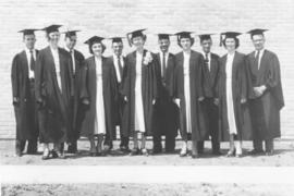 Canadian Mennonite Bible College graduates, June 22, 1956.
