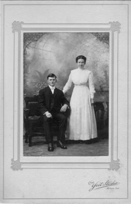 Wedding photo of Walter Snider and Mary Krempien