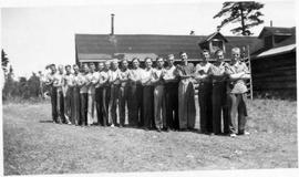 Russian Mennonite conscientious objectors at Montreal River Alternative Service Work Camp, 1941