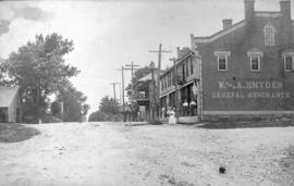 W. and A. Snyder General Merchants store ca. 1900?