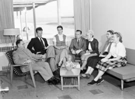 The faculty at Rockway Mennonite School in 1955