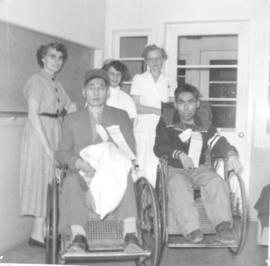 Clearwater Lake Sanatorium patients ready for transfer