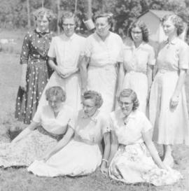 Counselors at Camp Assiniboia (Cartier, Manitoba)