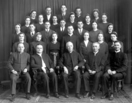 OMBS faculty and graduates, 1939