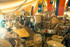 Interior of Self Help Crafts Tent at Toronto