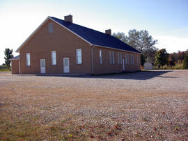 The Maple View Mennonite meetinghouse near Alma,