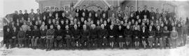 OMBS faculty and students, 1945