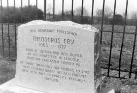 Monument of Theodorus Eby