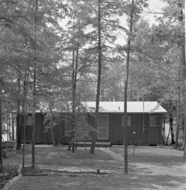 Cottage at Chesley Lake Camp, Allenford, Ontario.