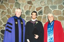 Theological Studies graduation, 2001