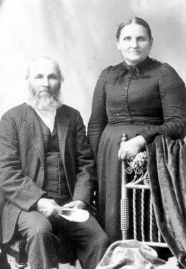 Abram Clemens and Magdalena Clemens (Brubacher