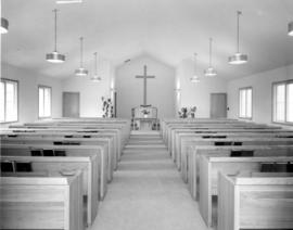 Interior of First Mennonite Church in Vineland,